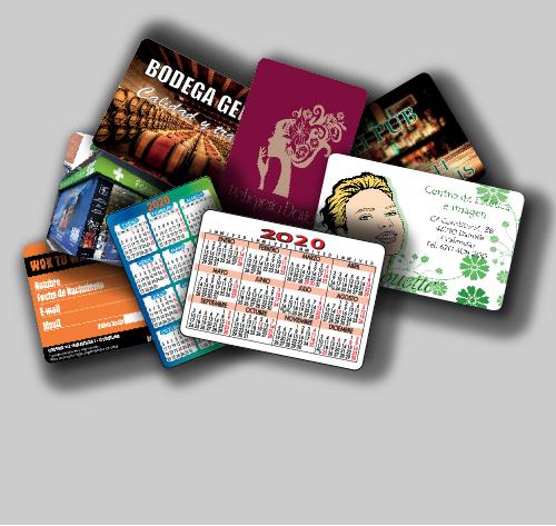 Tipos de calendario de bolsillo para publicidad