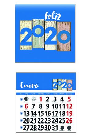 faldillas de calendario de nevera castellanas