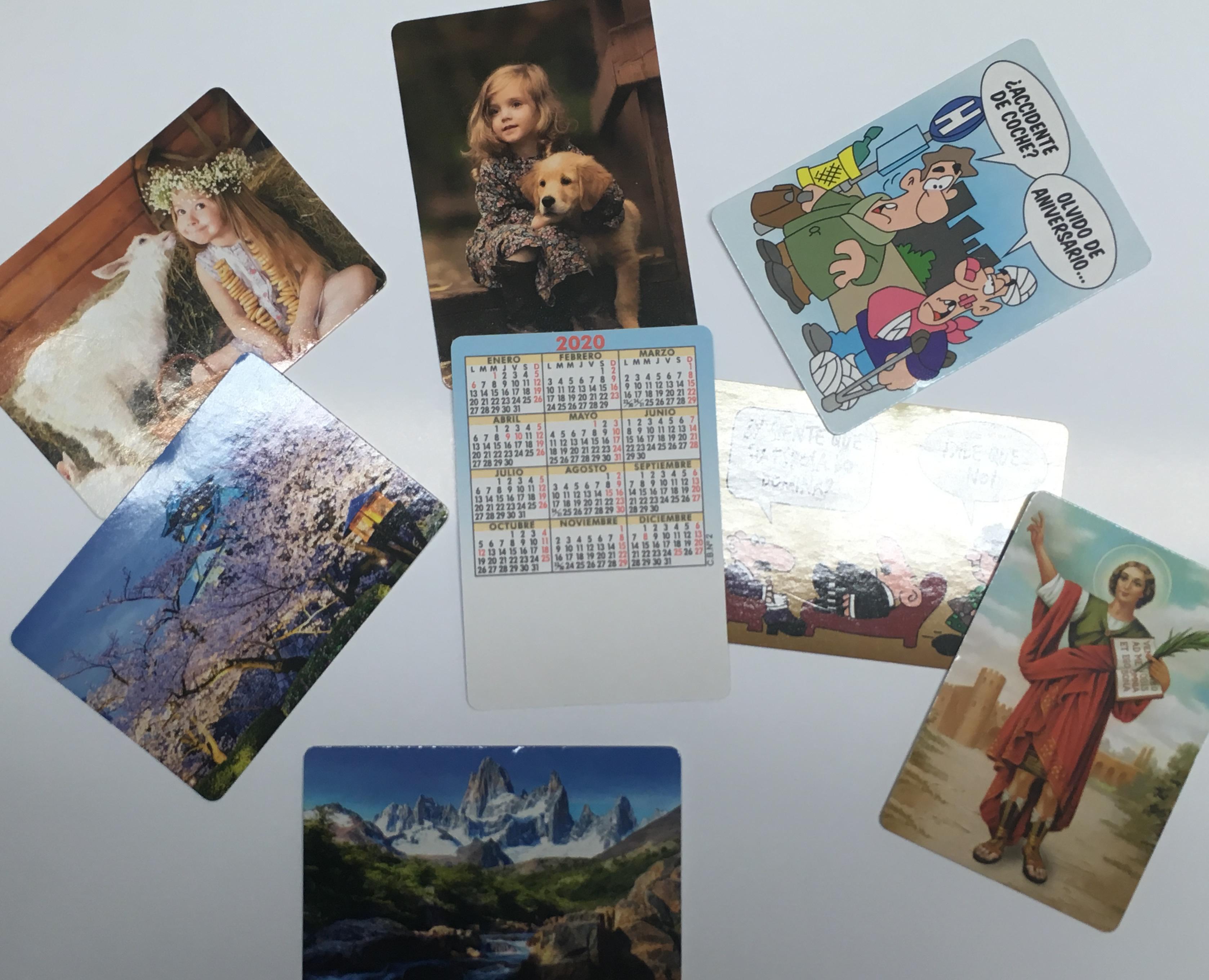Calendarios de bolsillo de serie marcados con tu publicidad