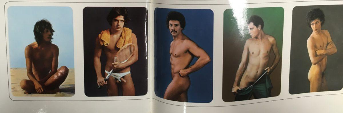 calendario de bolsillo hombres desnudos 1979
