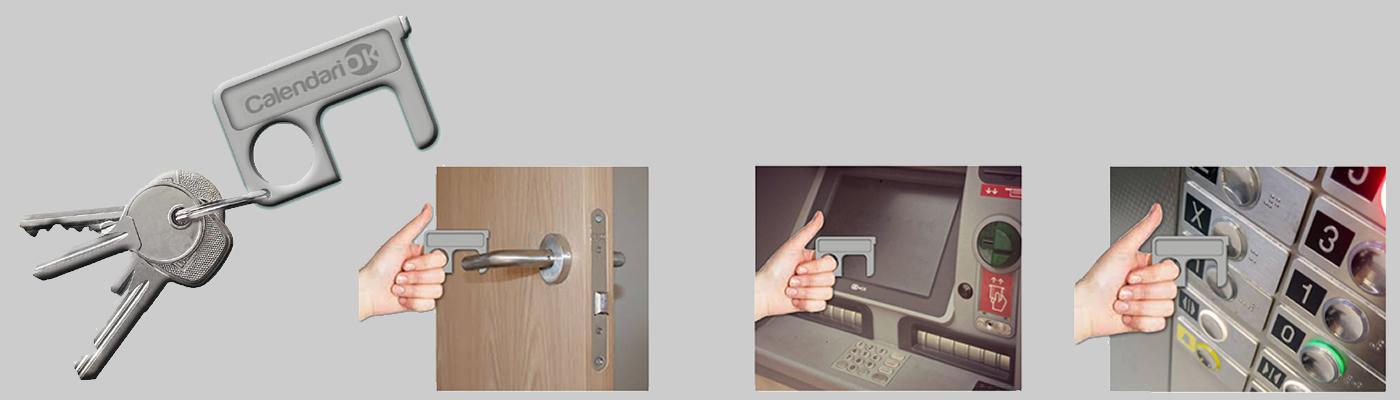 Llavero abridor de puertas