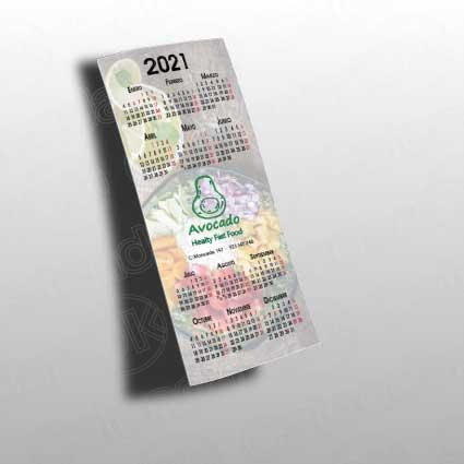 Calendario personalizado nevera poster anxal 10x22 cm