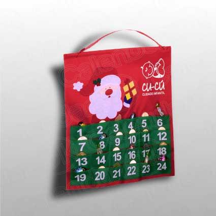 Calendario de serie de pared tipo calendario de adviento anxal 38x40 cm