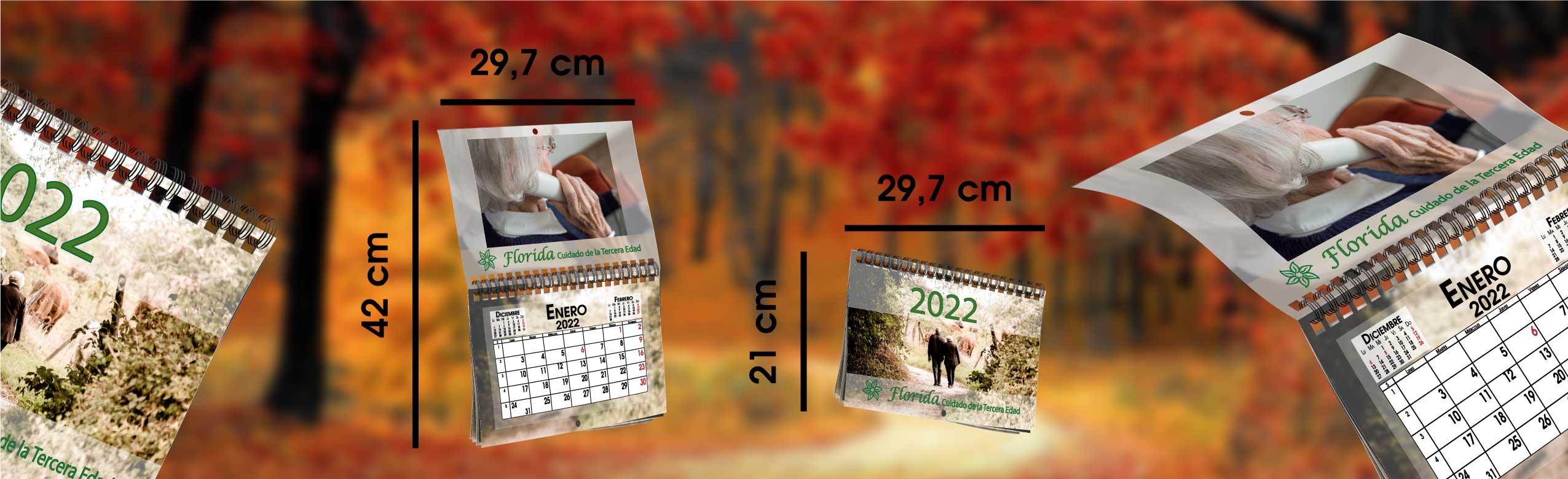 Calendario personalizado tipo revista